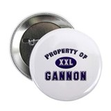 Property of gannon Button