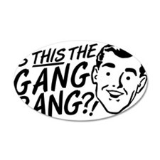 gangbang01 Wall Decal