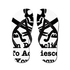 wht_Pirate_Disinclined_Request Flip Flops