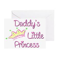 Daddys Little Princess Greeting Card