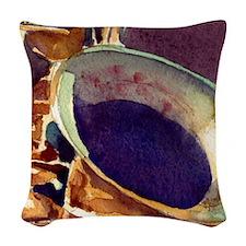 sax Woven Throw Pillow