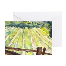 vineyard2 Greeting Card