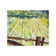 vineyard2 Throw Blanket