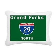 Grand Forks 29 Rectangular Canvas Pillow