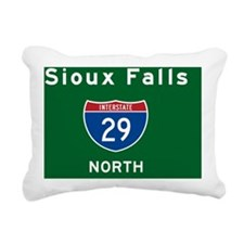 Sioux Falls 29 Rectangular Canvas Pillow