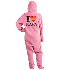 Rafa Faded Flag Footed Pajamas