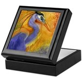 Cute Waterbird Keepsake Box