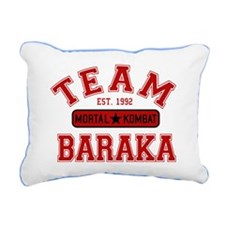 mortal-kombat-team-barak Rectangular Canvas Pillow