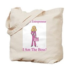 I am The Boss Tote Bag