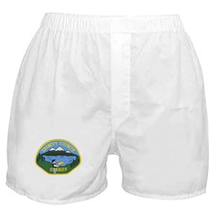 Trinity County Sheriff Boxer Shorts