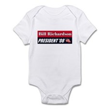 BILL RICHARDSON FOR PRESIDENT Infant Bodysuit
