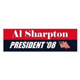 AL SHARPTON FOR PRESIDENT SHA Bumper Bumper Sticker