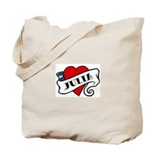 Julia tattoo Tote Bag