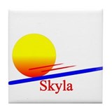 Skyla Tile Coaster