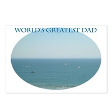 Worlds Greatest Dad II Postcards (Package of 8)