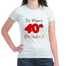 Moms 40th Birthday T