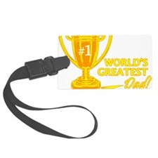 greatestdadtrophy Luggage Tag