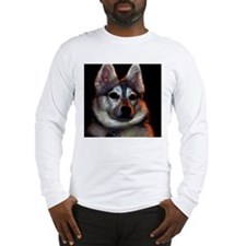 Alaskan Klee Kai golden colors Long Sleeve T-Shirt