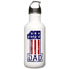 1 Dad USA B Water Bottle