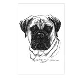 Bullmastiff Postcards (Package of 8)