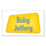 Baby Jeffery Rectangle Decal