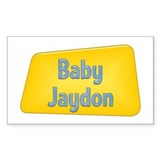 Baby Jaydon Rectangle Decal