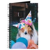 Birthday hats Collie Journal