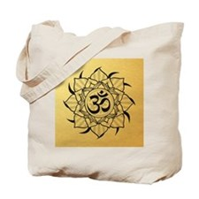 aum-goldcoin Tote Bag
