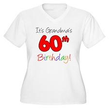 Its Grandmas 60th T-Shirt