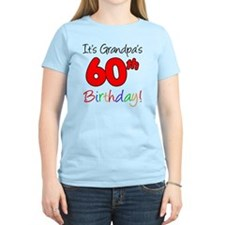 Its Grandpas 60th Birthday T-Shirt