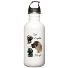 mastiff trio brushed 3 Water Bottle