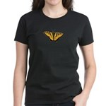 Women's Dark Butterfly T-Shirt Butterfly Art Shirt