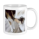 Kissing Collies Coffee Mug