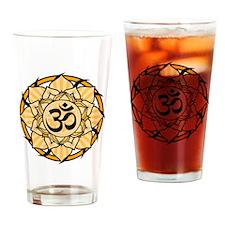 aum-orange Drinking Glass