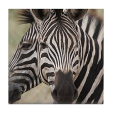 double zebra Tile Coaster
