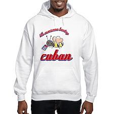 cuban-black Hoodie