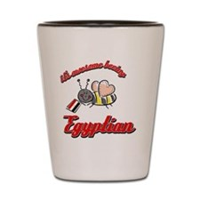 egyptian-black Shot Glass