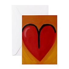 AeriesHeart Greeting Card