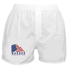 Mark Warner - President 2008 Boxer Shorts