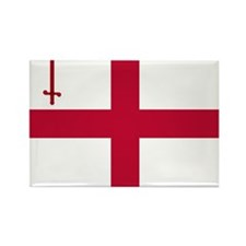 ST English Flag - City of London  Rectangle Magnet