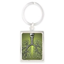 greenlungsquare Portrait Keychain