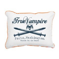 true vampire twilight co Rectangular Canvas Pillow