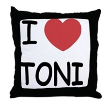 TONI Throw Pillow
