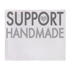 Support handmade 1 light Throw Blanket