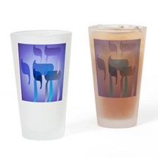 Chai PosterP Drinking Glass
