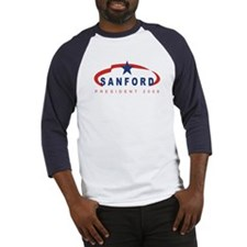 Mark Sanford for President (r Baseball Jersey