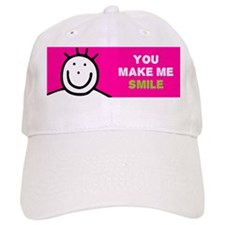 You Make me Smile Baseball Cap