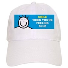 Smile when youre feeling blue Mug Baseball Cap