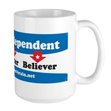 Independent Thinker, Voter, Believer Mug