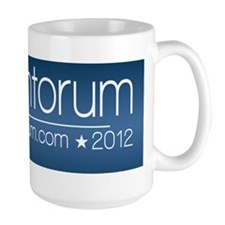 10x3_rick_santorum_03 Coffee Mug